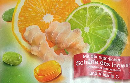 Bona Vita Ingwer Bonbons : Citrus Ginger Hard Candies
