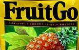 Aloha! FruitGo Pineapple Hard Candies