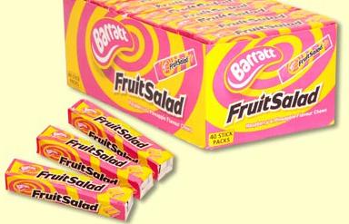 UK Sweets – The Fruit Salad Days
