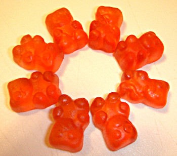 Bissinger's Grapefruit Panda Gummy's