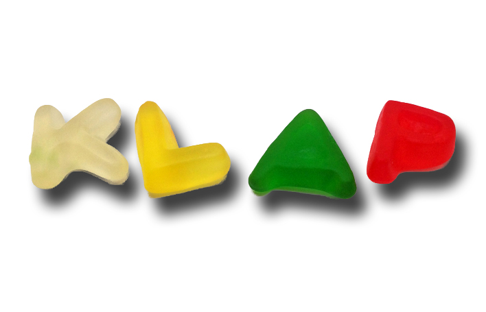 Haribo Alphabet Letters : The Sweet Way to Lern to Spell