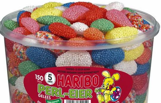 Haribo Perl-Eier (Pearl Eggs)