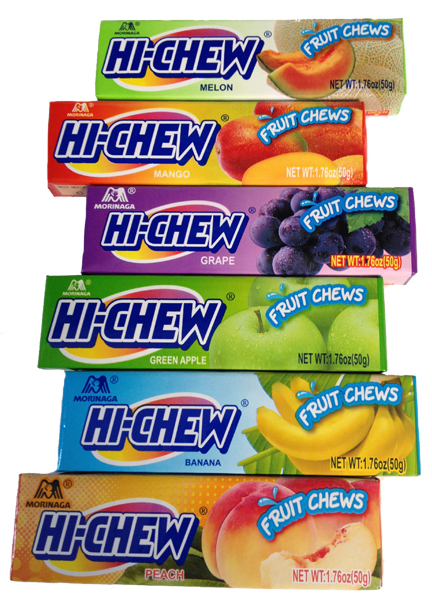 Hi Chews Packages