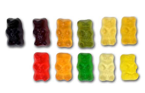 Haribo Juicy Gold Bears