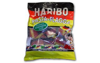 Salute The Flag, Kids.  Haribo Flags, Of Course!
