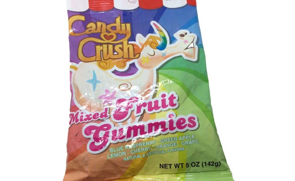 Candy Crush…..Mixed Fruit Gummies???