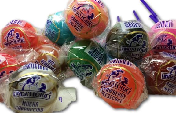 The Original Linda's Lollies Gourmet Lollipops
