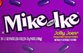 "Mike & Ike Jolly Joes – ""The debate of grape"""