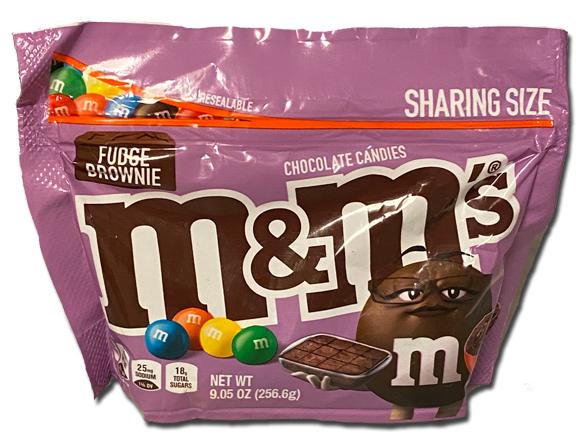 M&Ms: Fudge Brownie