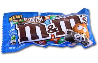 Pretzel M&M's – Candy Of The Year?