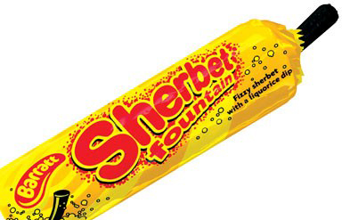 UK Sweets – Sherbet Fountain. WTF.