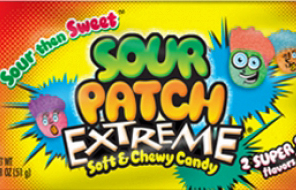 Sour Patch Extreme & Trader Joes Tummies – Two Goo Filled Candy Reviews For The Price Of None